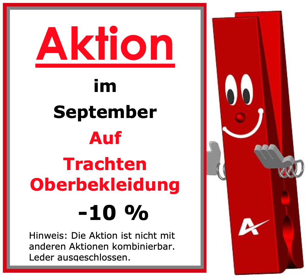 Aktuell Reinigung - Aktion September